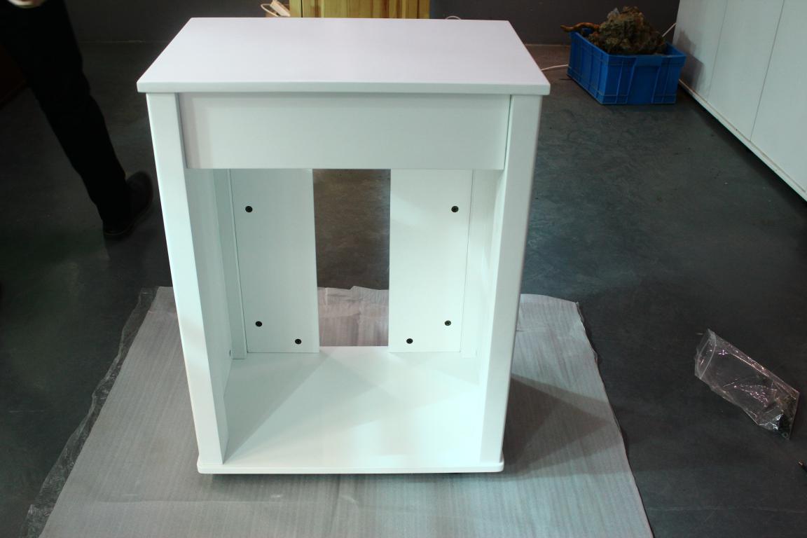60系列迪茨实木鱼缸底柜安装方法