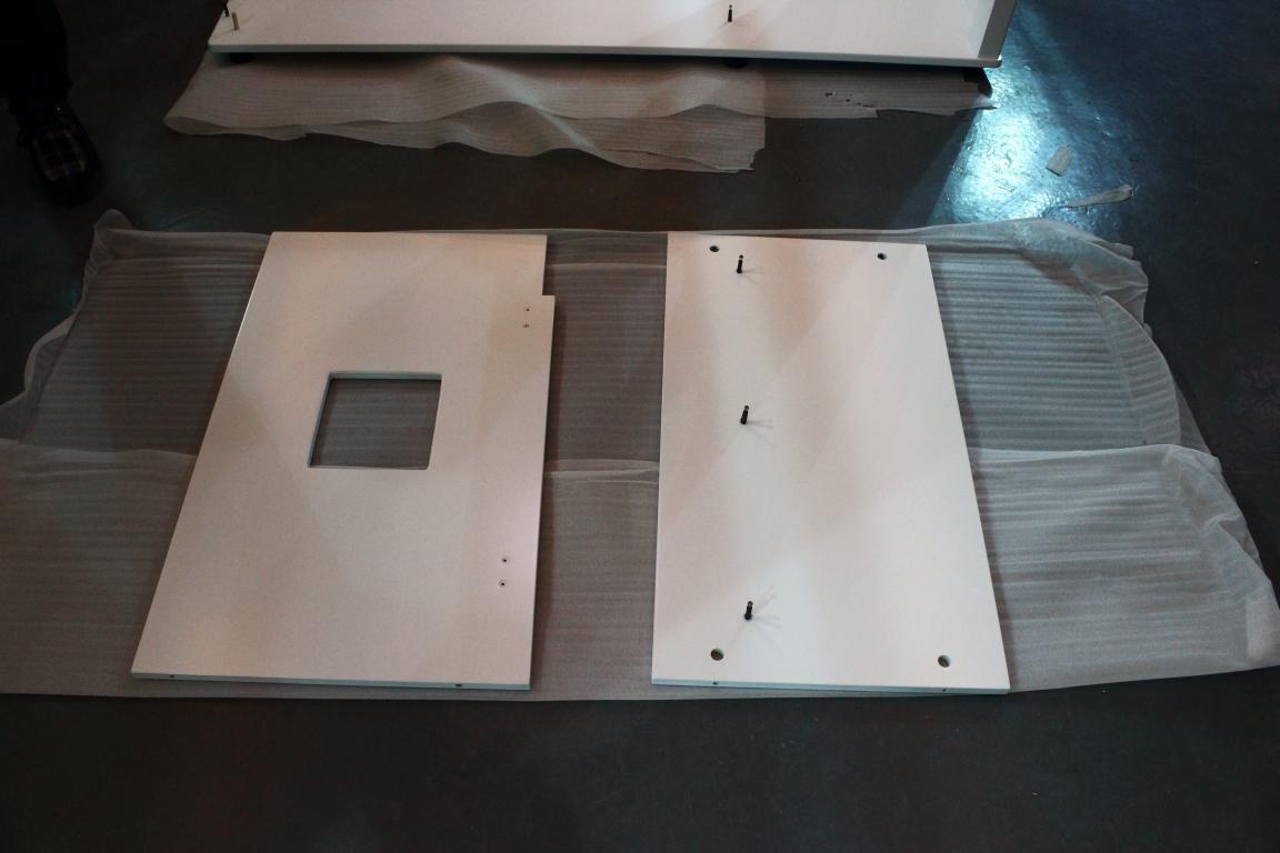 150系列实木鱼缸底柜迪茨底柜安装方法
