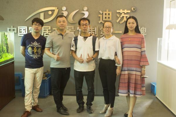 欢迎日本水族馆加盟客户光临迪茨公司