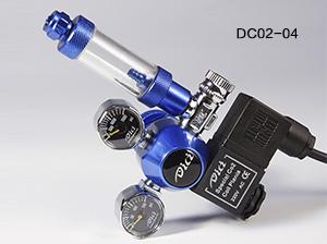 电磁阀水草表 - 迷你型CO2电磁阀止逆计泡双表