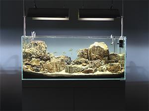 酷诺超白鱼缸90系列