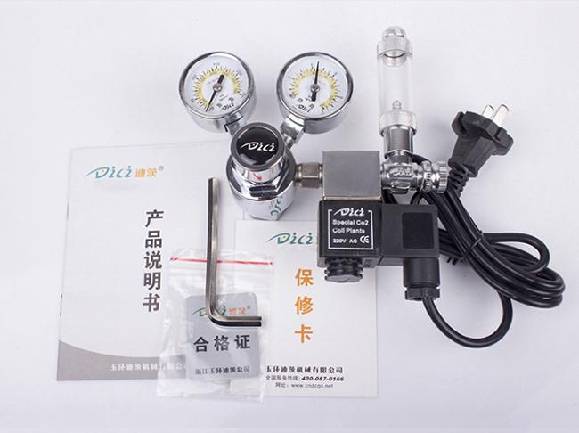 大双表电磁阀 - CO2电磁阀止逆计泡双表